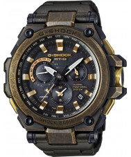 Casio MTG-G1000BS-1AER gps controlados homens g-choque de rádio Black Watch