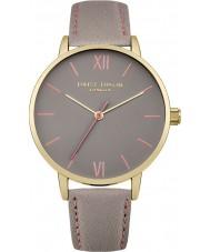 Daisy Dixon DD029EG Ladies annie cinza relógio de pulseira de couro