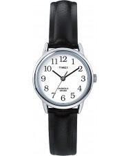 Timex T20441 Senhoras preto prata fácil relógio leitor