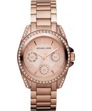 Michael Kors MK5613 Ladies Blair subiu relógio de ouro