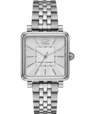 Marc Jacobs MJ3461 Senhoras prata vic banhado relógio pulseira