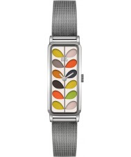 Orla Kiely OK4049 Ladies tronco relógio pulseira de aço de prata