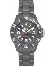 Ice-Watch 000621 Gelo sólido relógio pulseira exclusiva antracite plástico