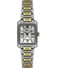 Rotary LB02651-41 Senhoras relógios de dois tons de relógios