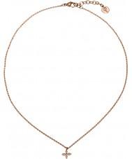 Edblad 31630061 Ladies Windsor subiu colar banhado a ouro