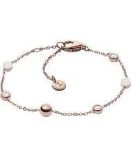 Skagen SKJ0971791 Bracelete de vidro marinho das senhoras