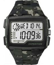 Timex TW4B02900 Mens expedição khaki choque relógio digital camo crono