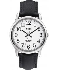Timex T20501 Mens Watch leitor fácil black white