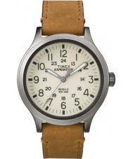 Timex TW4B06500 Mens expedição olheiro tan couro relógio pulseira
