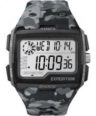 Timex TW4B03000 Mens expedição choque digitais camo cinzento crono relógio