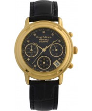 Krug-Baumen 150573DL Ladies princípio diamante relógio cronógrafo preto