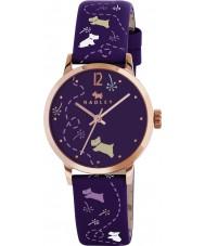 Radley RY2340 Ladies prado berinjela impressa relógio pulseira