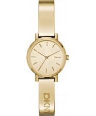 DKNY NY2307 Ladies soho ouro relógio banhado