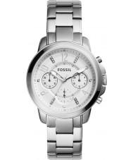 Fossil ES4036 Ladies gwynn relógio cronógrafo prata