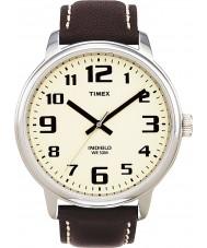 Timex T28201 Mens Watch leitor fácil marrom