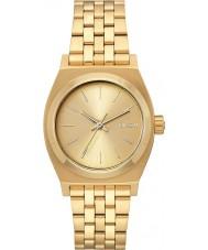 Nixon A1130-502 Ladies meio tempo teller tudo relógio de aço ouro