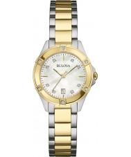 Bulova 98W217 Relógio clássico de senhora