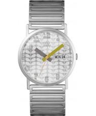 Orla Kiely OK4055 Ladies madison aço de prata pulseira de relógio
