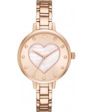 Kate Spade New York KSW1216 Ladies metro pulseira rosa relógio do aço ouro