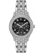 Bulova 96N110 Relógio de cristal feminino