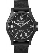 Timex TW4B08100 Mens expedição tecido preto relógio pulseira